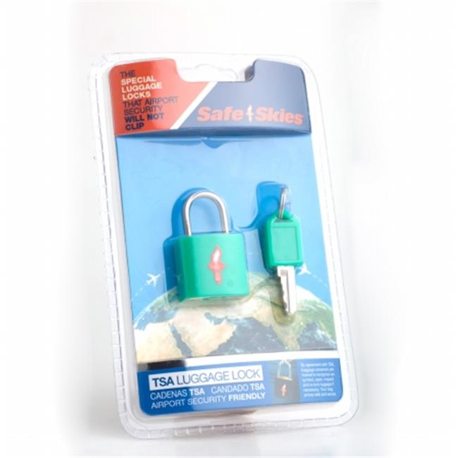 Safe Skies No. 208b TSA-Approved padlock single-pack - Pistachio