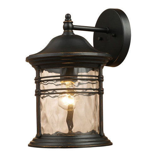 Wistaria Lighting Madison 1-Light Outdoor Wall Lantern
