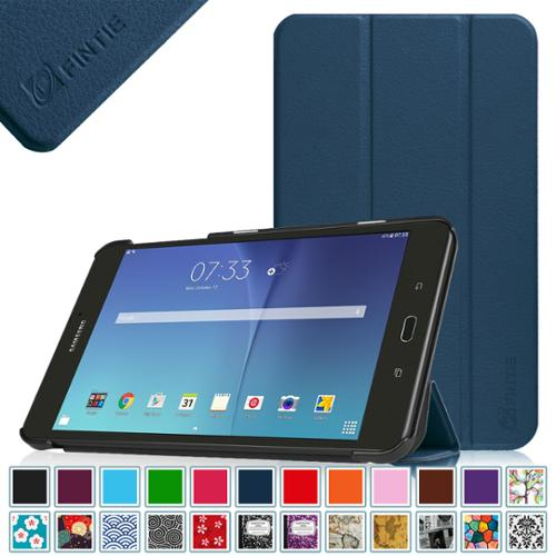 Fintie Case for Samsung Galaxy Tab E 8.0 SlimShell - Slim Lightweight Standing Cover, Navy