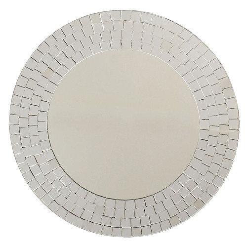 Ashton Sutton Crystals Glass Mosaic Wall Mirror