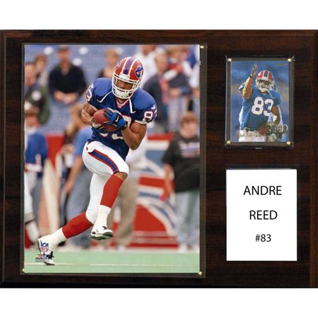 C&I Collectables NFL 12x15 Andre Reed Buffalo Bills Player Plaque