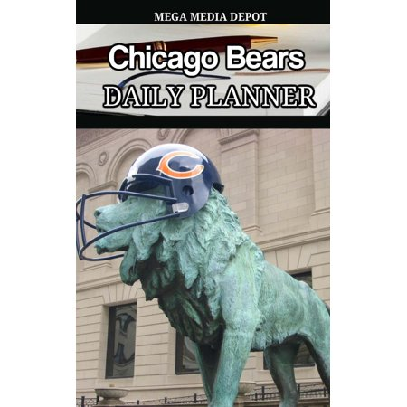 Chicago Bears Daily Planner Book (Chicago Bears Wedding)