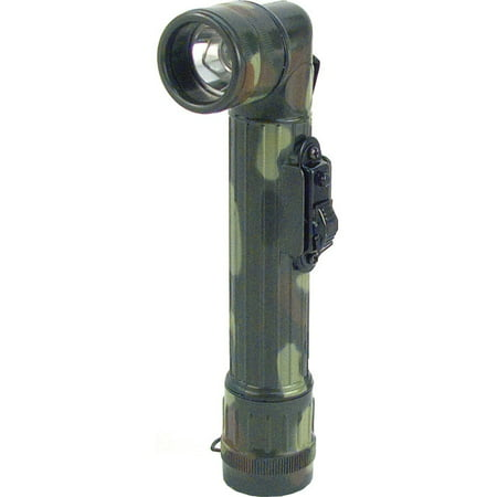 Woodland Camouflage - Army Style Mini Anglehead Flashlight Set