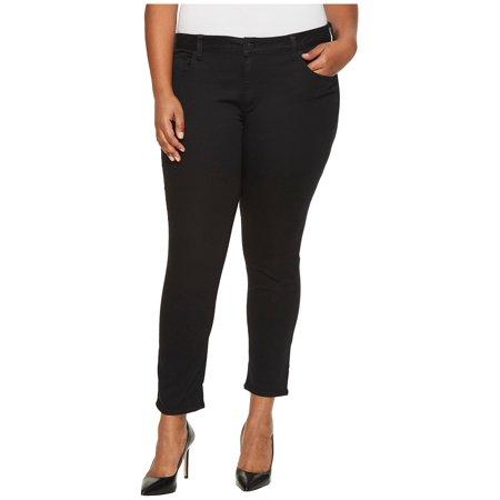 Womens Plus Skinny Ankle Stretch Jeans 24W