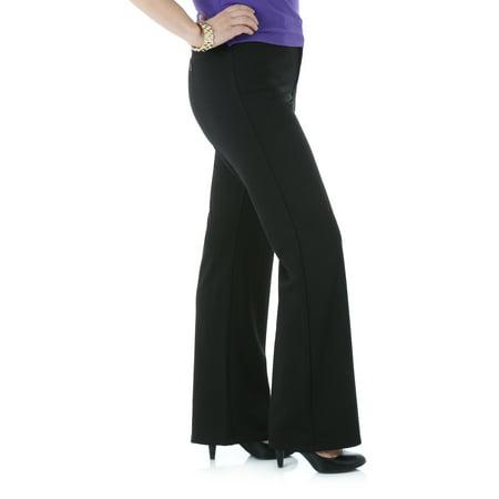Lee Riders Women's Ponte Knit Straight Leg Pant