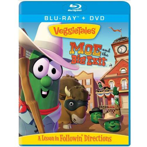 VeggieTales: Moe And The Big Exit (Blu-ray + DVD) (Full Frame, Widescreen)