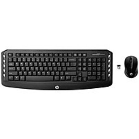bd931a259ff HP LV290AA 2.4 GHz Wireless Keyboard and Mouse (Refurbished) - Walmart.com