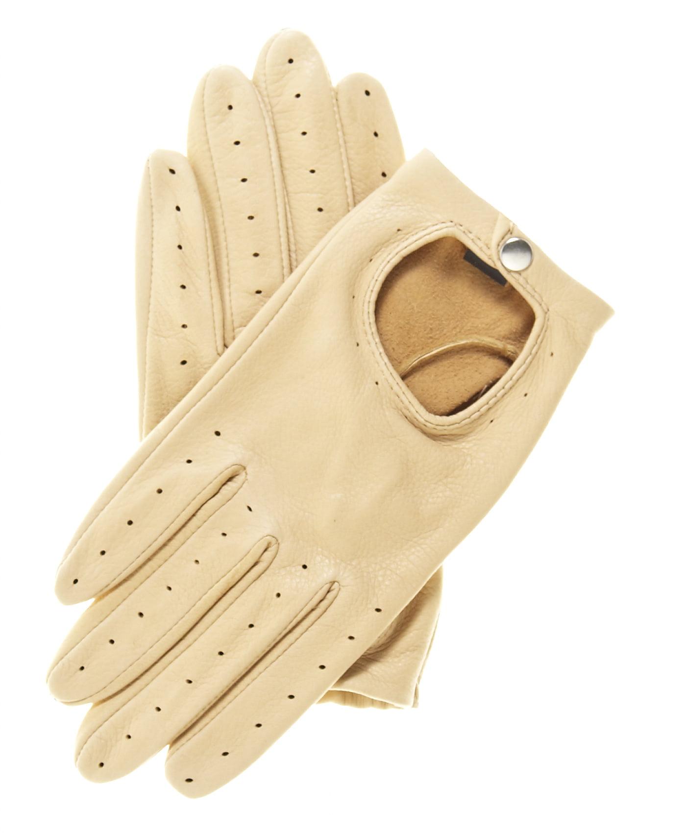 Driving gloves at walmart - Pratt And Hart Women S Deerskin Leather Driving Gloves