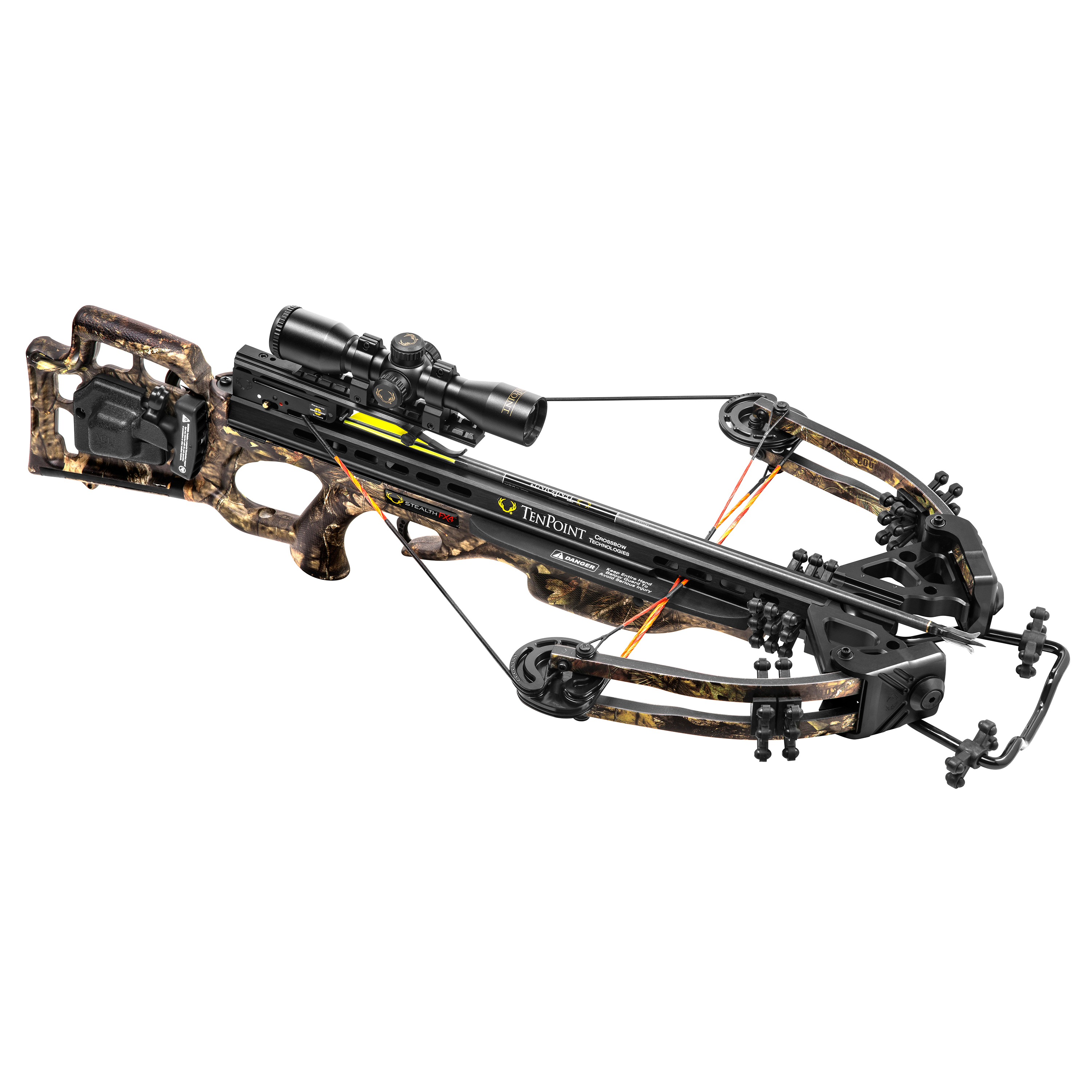 TenPoint Crossbow Technologies Stealth FX4 Crossbow w/ACU-Draw 50 Pkg, Camo