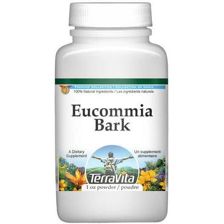 Eucommia Bark  Du Zhong  Powder  1 Oz  Zin  515101