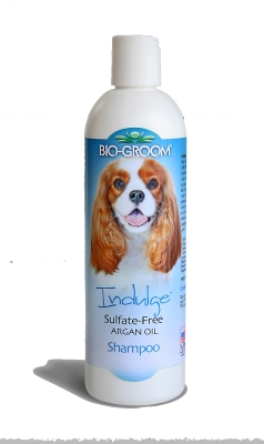 Bio-Groom Indulge 29912 Argan Oil Dog Shampoo, 12 oz by BIO-DERM LABORATORIES