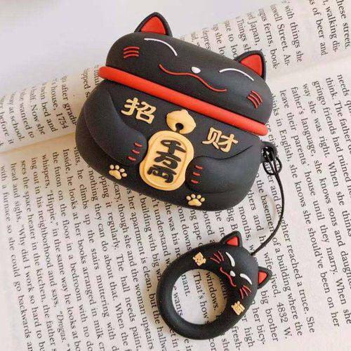 Akoada Lucky Cat Airpods Pro Case Airpods 3 Case New Cute 3d