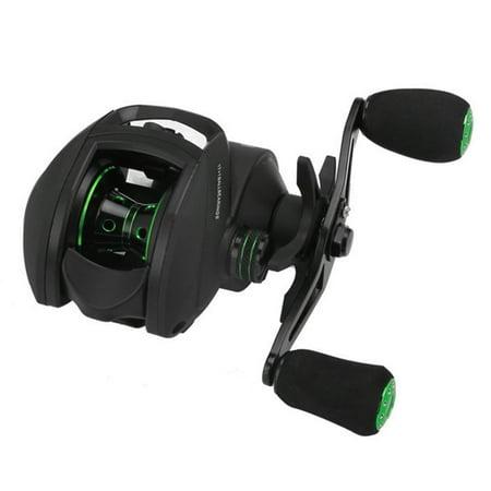 17+1 BB Bait Casting Reel with Magnetic Brake 8.1:1 Gear Ratio Freshwater Saltwater Big Fish Carp Fishing