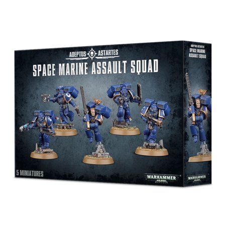 Warhammer 40k SPACE MARINES ASSAULT SQUAD GWS -