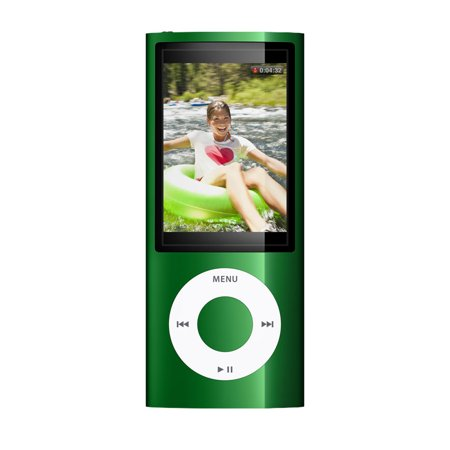 Apple iPod Nano 5th Generation 8GB Green Bundle, Like