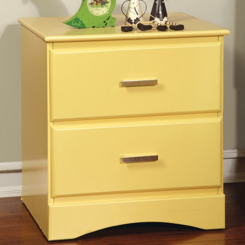 Hokku Designs Spectrum 2 Drawer Nightstand
