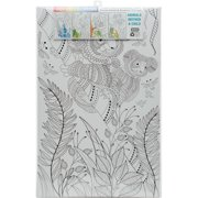 """""""Joy Of Coloring Adult Coloring Posters 11""""""""x17"""""""" 4/Pkg-Animals: Mother & Child"""""""
