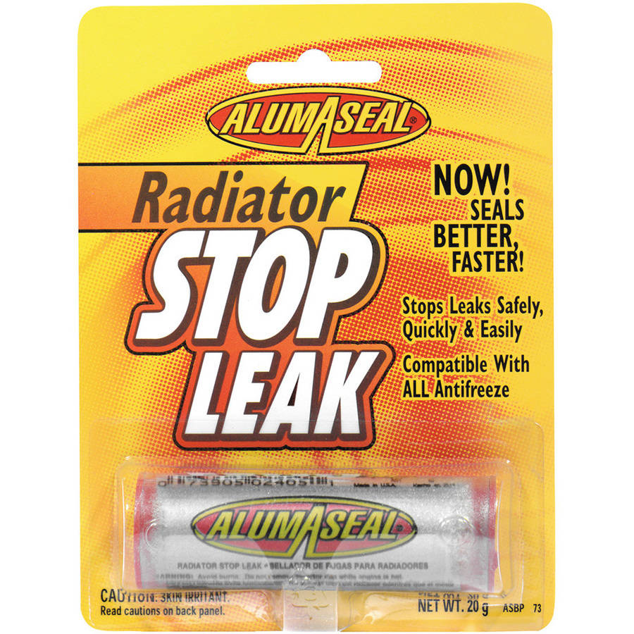 AlumaSeal (ASBPI12) Radiator Stop Leak Powder Blister Card, .20 g by Alumaseal