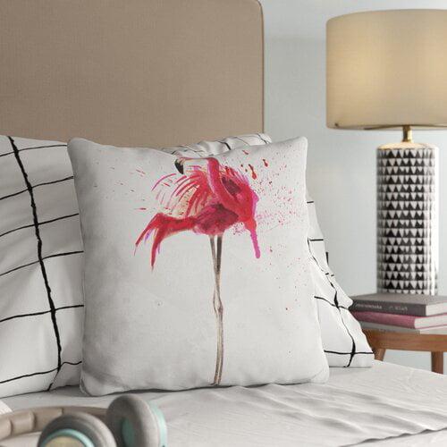 Trule Teen Blount Flamingo Throw Pillow