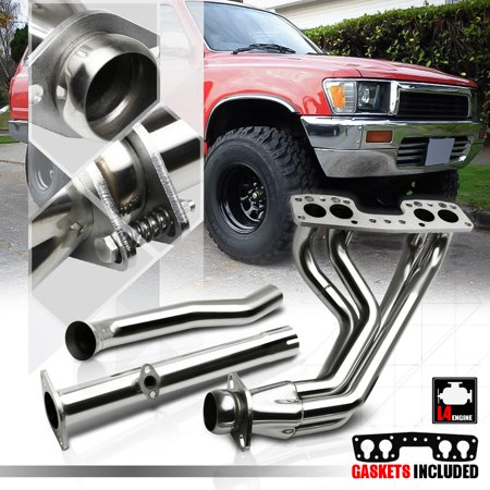 2wd Header (Stainless Steel Full Exhaust Header Manifold for 90-95 4Runner/Pickup 2WD 22R-E 91 92 93)