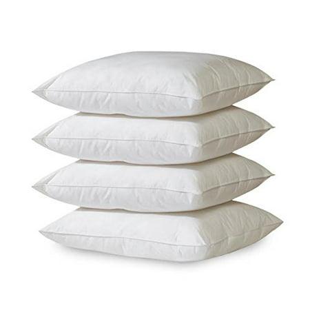 4-Pack Hypoallergenic Down-Alternative, Bed Pillow (Queen)