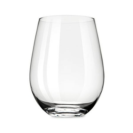 Glass Wine, Grand Cru Straightforward Insulated Clear Stemless Wine Glass (Sold by Case, Pack of 4)