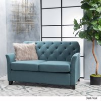 57 in. Loveseat in Dark Teal