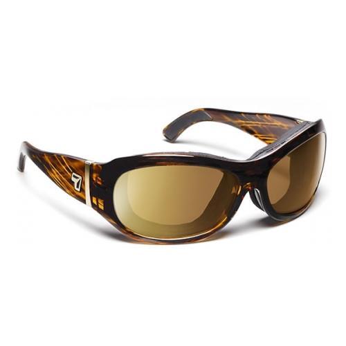 Image of 7 Eye Air Shield Sunglasses Briza, Sharp View Gray Polzarized PC Lens, Sunset To