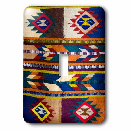 3dRose Mexico - Symbols on a Zapotec Fabric., 2 Plug Outlet Cover