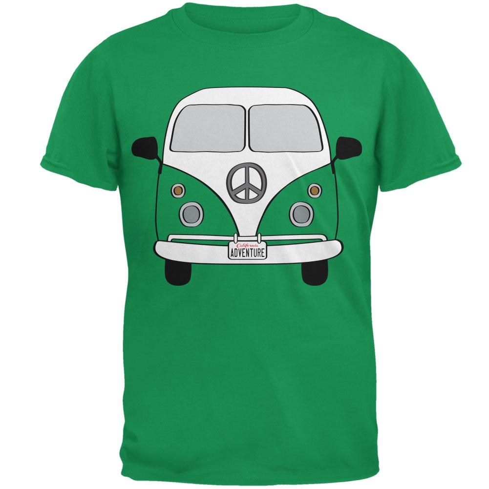 Halloween Travel Bus Costume Camper Adventure Mens T Shirt