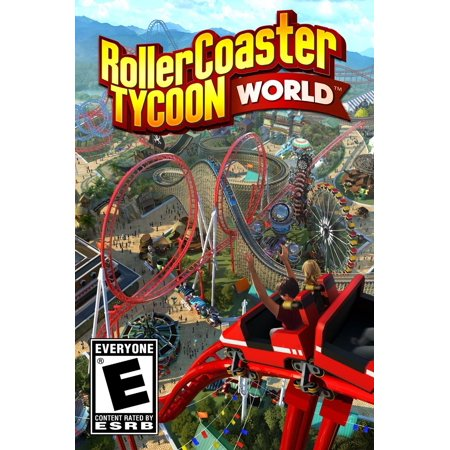 Refurbished Atari Rollercoaster Tycoon World Pc