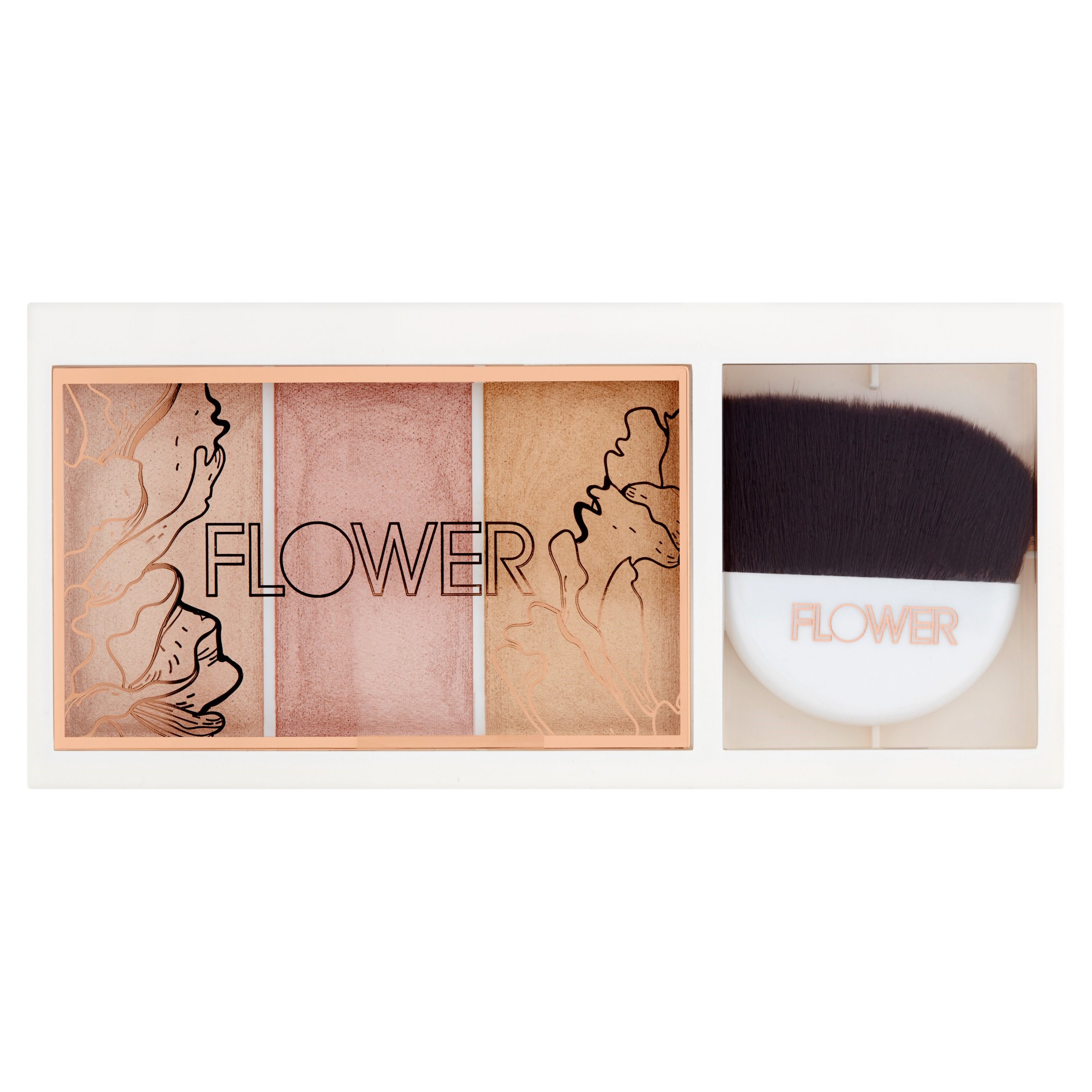 Flower Shimmer & Strobe Highlighting Palette, SP1