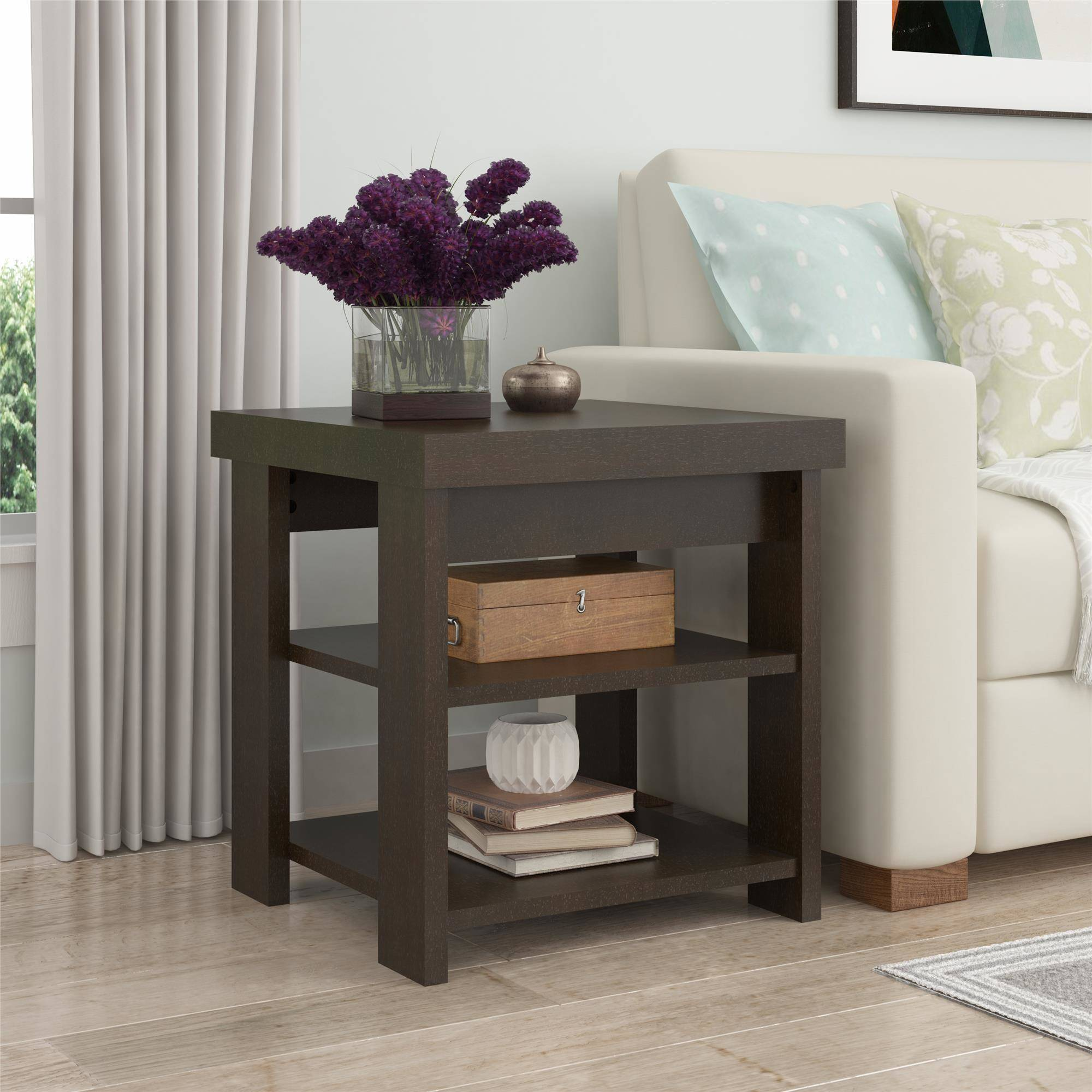 Ameriwood Home Jensen End Table, Espresso by Generic