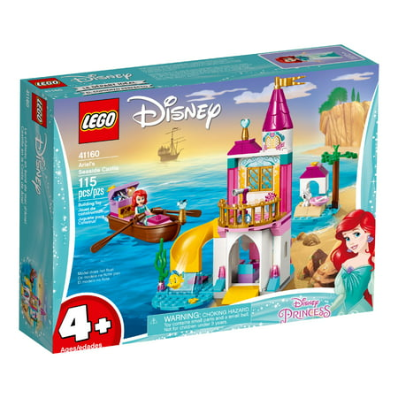 LEGO Disney Princess Ariel's Seaside Castle Building Set 41160