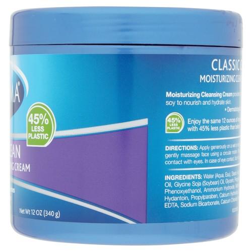 Noxzema Classic Clean Cream Moisturizing Cleansing 12 oz