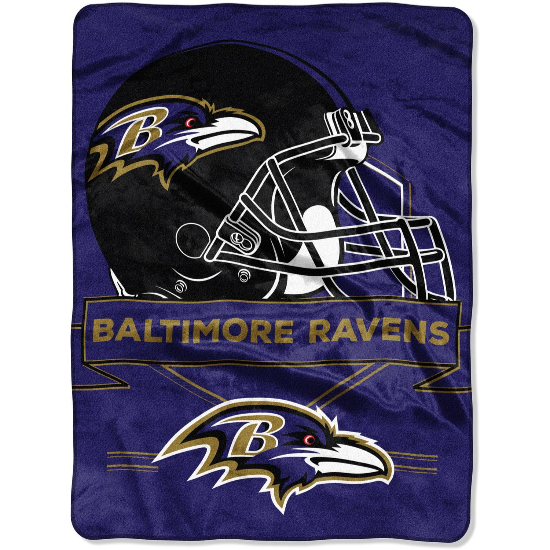"NFL Baltimore Ravens ""Prestige"" 60"" x 80"" Raschel Throw"