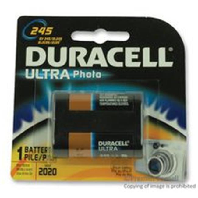 Duracell 243-DL245BPK 6 Volt Lithium Photo & Electronic B...
