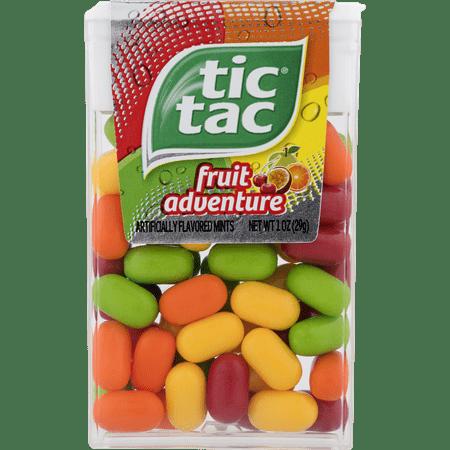 Tic Tac Fruit Adventure Mints, 1 oz - Tic Tac 60 Pack