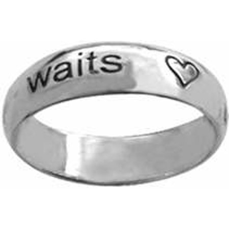 Ring True Love Waits W Hearts Style 836  Sterling Silver  Size  9