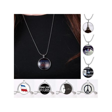 Glow In The Dark Luminous Pendant Necklace Stainless Steel Chain Jewellery Gift - Glow In The Dark Jewelry