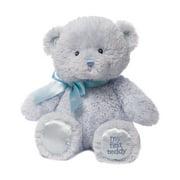 Gund My First Teddy Bear Baby Blue Stuffed Animal Plush 10 inches