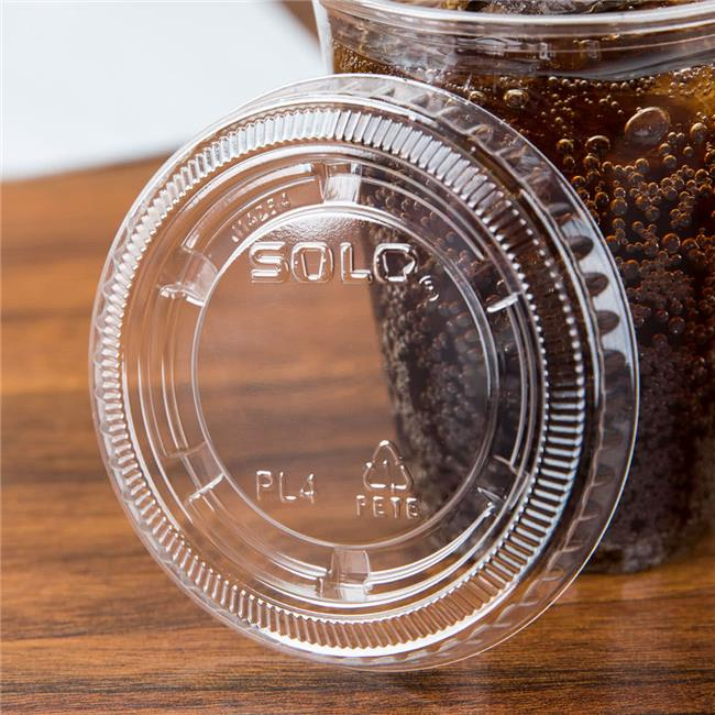 Dart PL4N CPC 4 oz Solo Ultra Lid for souffle Cup with No...