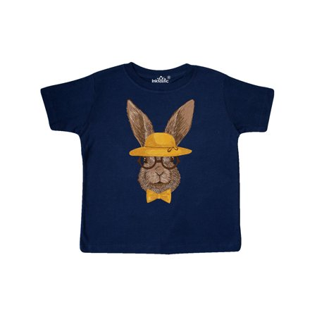 Hipster Easter Bunny Toddler T-Shirt
