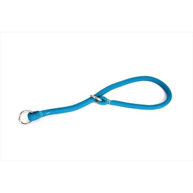 Yellow Dog Design TEL114T Teal Round Braided Training Collar - 14 inch