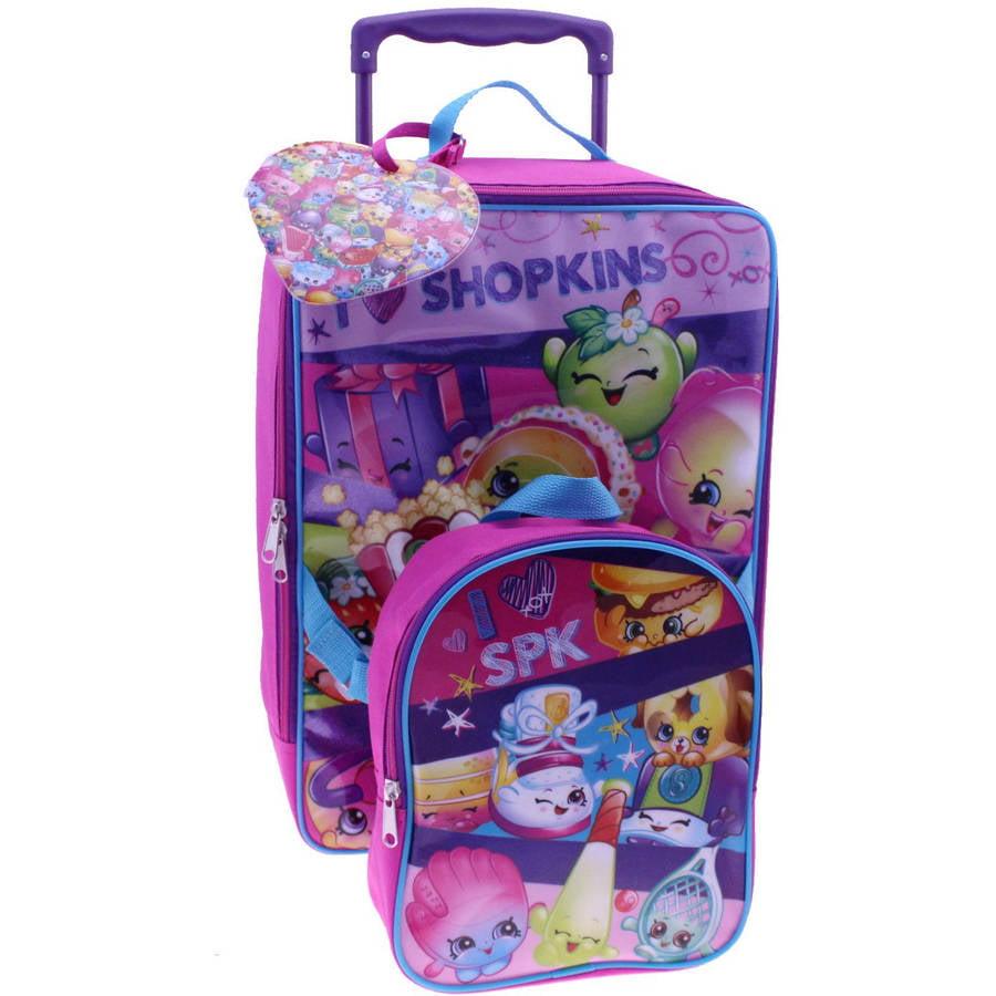 Shopkins Luggage Set, Pink