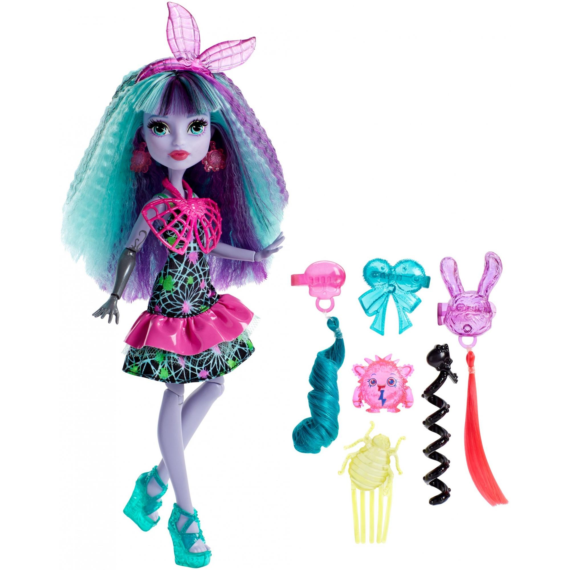 Monster High Electrified Monstrous Hair Ghouls Twyla Doll by Mattel