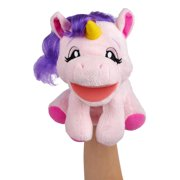 WowWee Alive Jr. Play and Say Puppets - Interactive Plush Puppets - Unabelle Unicorn