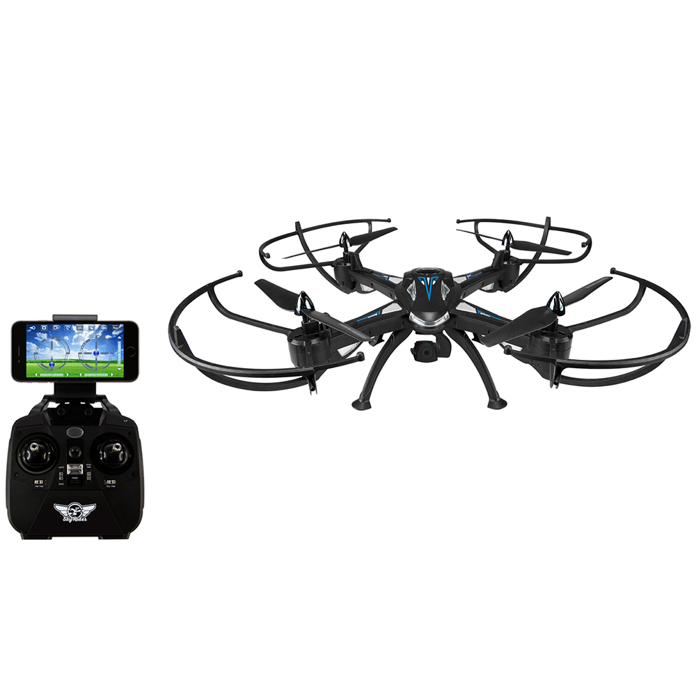 Sky Rider Condor Pro Quadcopter Drone with Wi-Fi Camera, DRW876 by GPX