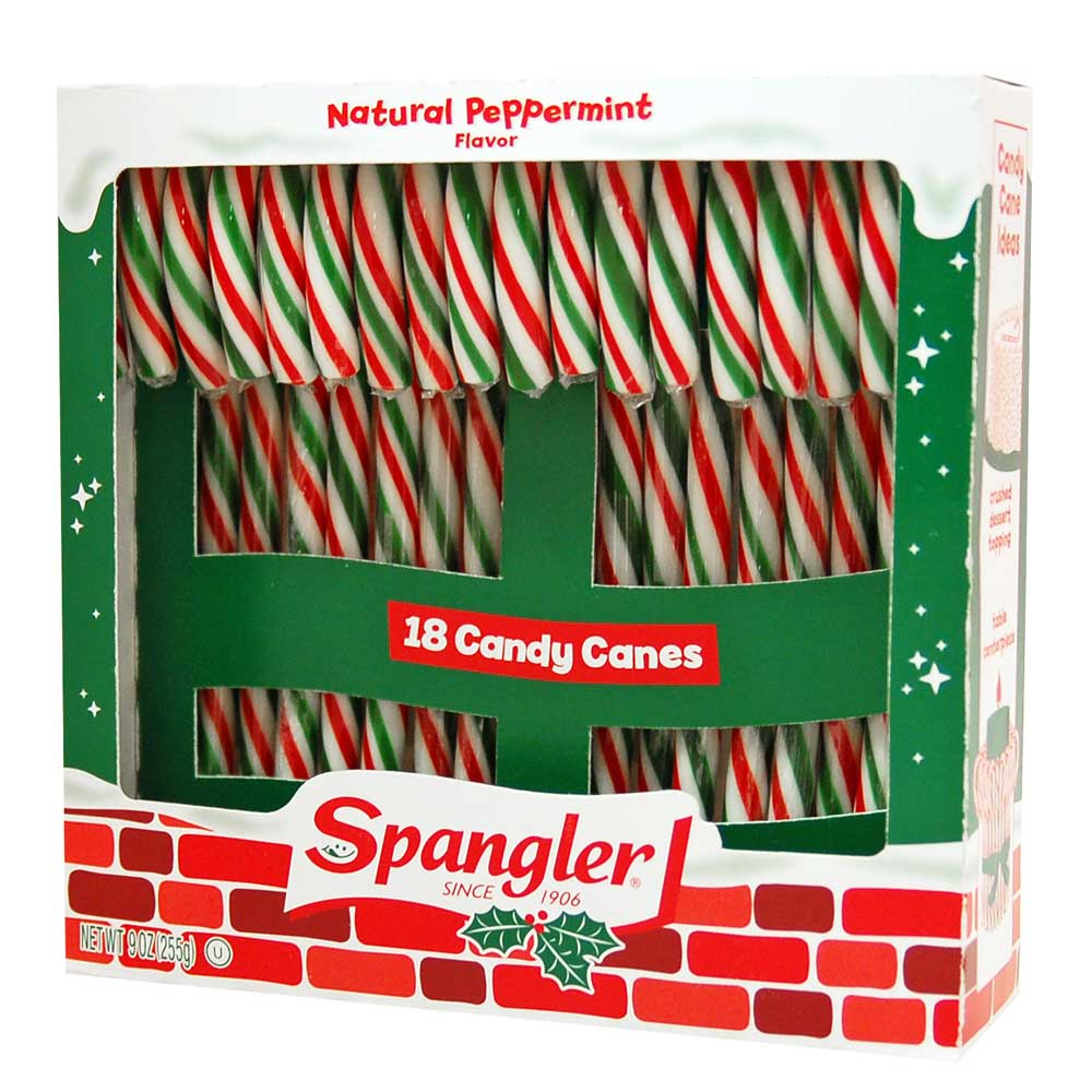 Peppermint Candy Canes 6-18 ct boxes