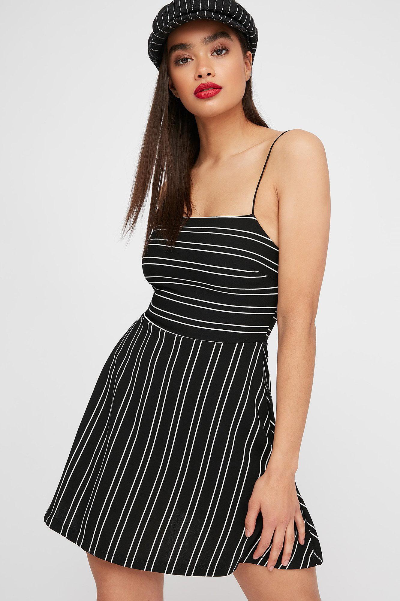 Spaghetti Strap Straight Dress